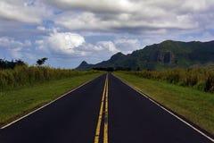 Intervallo di montagna di Huleia Fotografia Stock