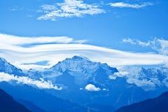 Intervallo di montagna di Jungfrau, Svizzera Fotografia Stock Libera da Diritti
