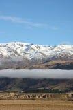 Intervallo di montagna di Pisa Nuova Zelanda Immagini Stock