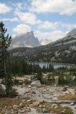 Intervallo di montagna nel Wyoming Fotografia Stock