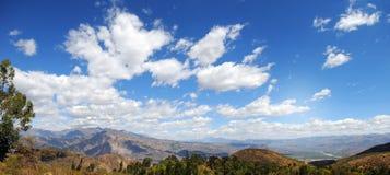Intervallo di montagna nelle Ande del Perù Immagini Stock Libere da Diritti