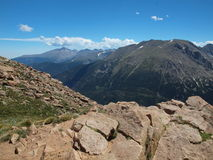 Intervallo di montagna rocciosa immagini stock libere da diritti