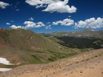 Intervallo di montagna rocciosa fotografie stock libere da diritti