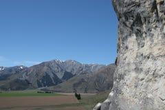 Intervallo di Torlesse, collina del castello, Nuova Zelanda Fotografia Stock Libera da Diritti