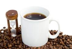 Intervallo per il caffè cronometrato Immagini Stock