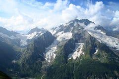 Intervallo principale del Caucaso Fotografia Stock Libera da Diritti