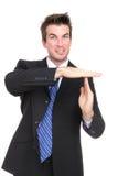 Intervalo de parada do homem de negócio Imagens de Stock Royalty Free