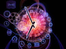 Intervals of time Stock Photo