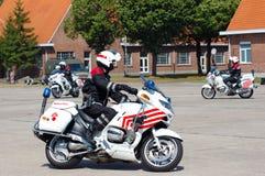 Intervenção da polícia militar Foto de Stock Royalty Free