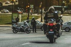 Intervenção do tráfego Foto de Stock Royalty Free