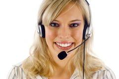 Intervenant du service client Image stock