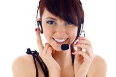Intervenant du service client Image libre de droits