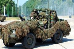 Intervención militar Fotografía de archivo libre de regalías