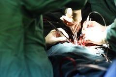 Intervento chirurgico nell'ospedale Immagine Stock Libera da Diritti