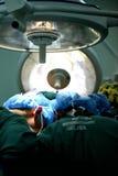 Intervento chirurgico nell'ospedale Fotografia Stock Libera da Diritti