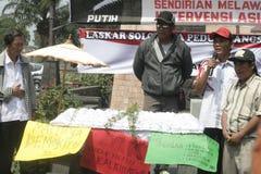 intervento straniero di scarto di azione Immagine Stock Libera da Diritti