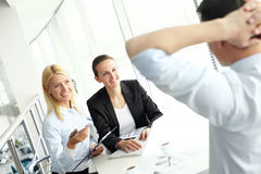 Interview Royalty Free Stock Photography