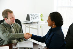 Interview Royalty Free Stock Photo