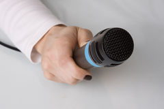 The interview Stock Photography