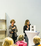 Interview with Barbara Klemm at the Frankfurt Book Fair 2014 Royalty Free Stock Image