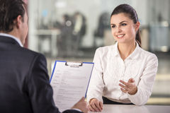 Interview Stock Images