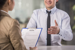 Interview Royalty Free Stock Image