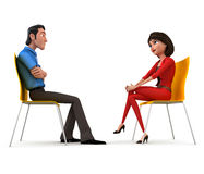 Interview Royalty Free Stock Photos