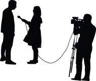 Interview Stock Photography