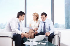 Interviewing Stock Photography