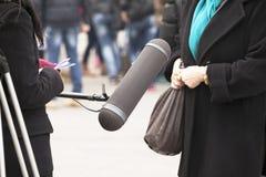 Intervista Immagine Stock Libera da Diritti