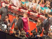 Intervista con Johnny Depp Immagini Stock