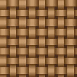 Interweaving brown tapes - texture vector eps8 Stock Photos