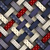 Interweaving nautical pattern Stock Photo