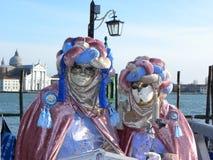 Interwined hats, Carnival of Venice Royalty Free Stock Photos