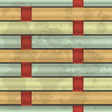 Interwoven fibers. Illustration of colorful interwoven fibers Royalty Free Stock Photos
