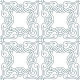 Interwoven lines seamless pattern Stock Image