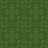 Interwoven lines seamless pattern Royalty Free Stock Photos