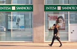 Intesa Sanpaolo foto de stock