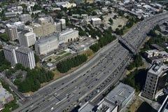 Intestate 5 in Seattle, State Washington, USA Royalty Free Stock Image