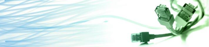 Intestazione - bandiera Fotografia Stock