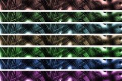 Intestazione/bandiera astratte Fotografia Stock