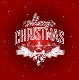 Intestazione di Buon Natale Illustrazione di Stock