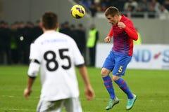 Mezzi di FC Steaua Bucarest FC Gaz Metan Fotografia Stock Libera da Diritti
