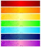 Intestazioni dei biglietti di S. Valentino Fotografia Stock Libera da Diritti