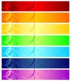 Intestazioni di Web Fotografie Stock