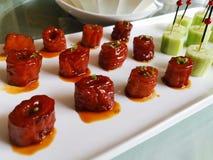 Intestini brasati nel piatto di Shandong della salsa di Brown @, Cina immagine stock libera da diritti