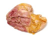 Intestini del maiale o gli organi del maiale fotografia stock
