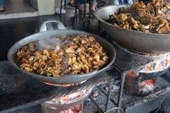 Intestini del manzo o della capra culinari immagini stock libere da diritti