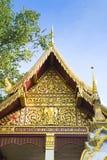 InThailand del tempio, tetto del tempio, Tailandia 2015 Fotografie Stock