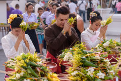 Inthakin Festival. Royalty Free Stock Photo